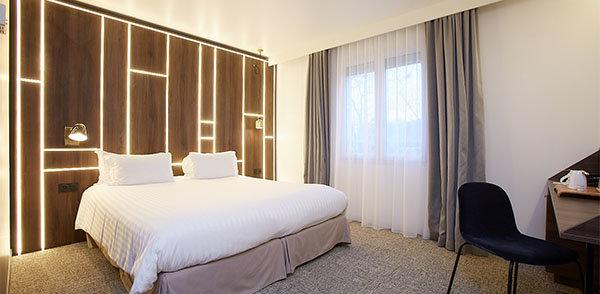 Chambres Hôtel Paris Meudon Ermitage, Chambres
